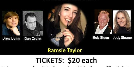 RAMSIE SCHOLARSHIP COMEDY EVENT tickets