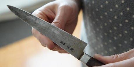 Atelier d'aiguisage (en français) billets