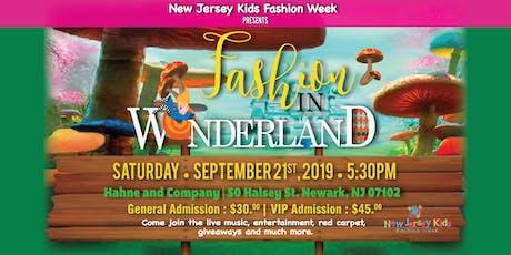 """New Jersey Kids Fashion Week Presents: """"Fashion In Wonderland """" tickets"""