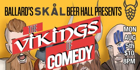 The Vikings of Comedy tickets
