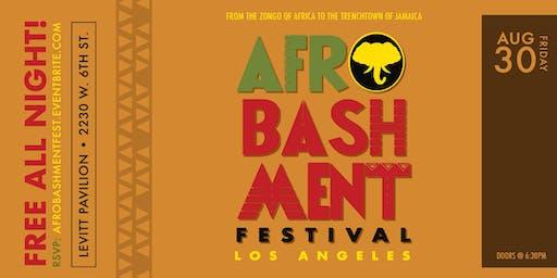 AFROBASHMENT FEST 2019 - Los Angeles *All Ages*