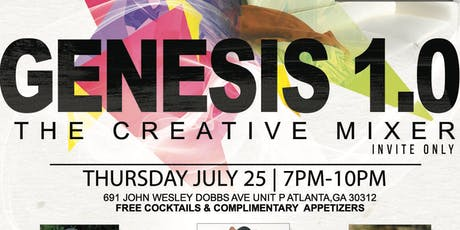 GENESIS 1.0 (THE CREATIVE MIXER) tickets