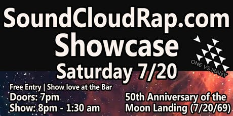 SoundCloudRap.com Showcase - 50th Anniversary of the Moon Landing tickets