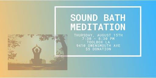 Sound Bath Meditation: August Full Moon