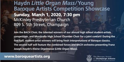 Haydn Little Organ Mass/Young Baroque Artists Competition Showcase