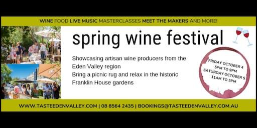 Taste Eden Valley Spring Wine Festival