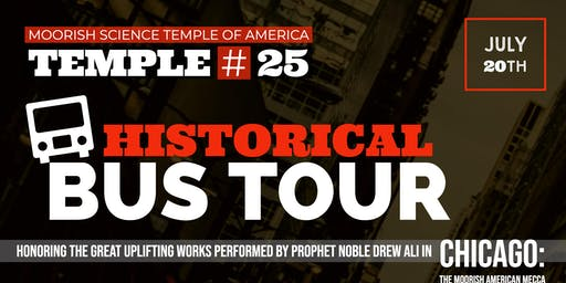 Moorish Science Temple of America Temple 25 Historical Bus Tour