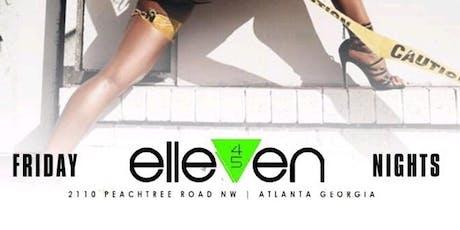 Prestige Fridays @ Elleven45 (Free til 12) tickets