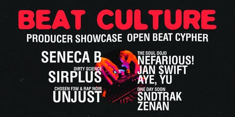 Beat Culture: Oakland — Producer Showcase & Open Beat Cypher tickets