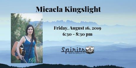 Micaela Kingslight tickets