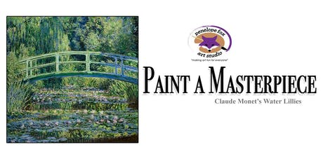 Paint a Masterpiece: Monet's Water Lilies and Japanese Bridge tickets