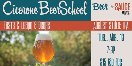 Cicerone School, Learn About Craft Beer!