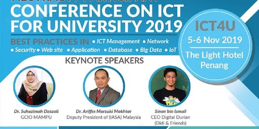 Conference on ICT For University (ICT4U)