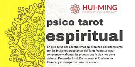 Curso Pisco Tarot Espiritual entradas