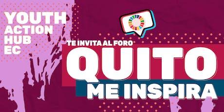 Foro Quito Me Inspira boletos
