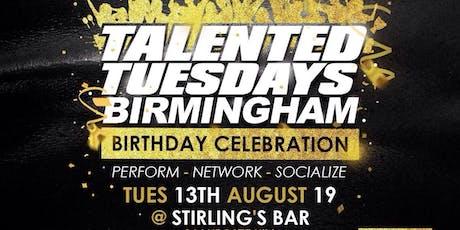 Talented Tuesdays Birthday tickets