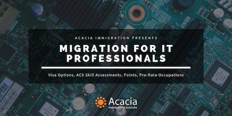 Migration for IT Professionals Webinar tickets