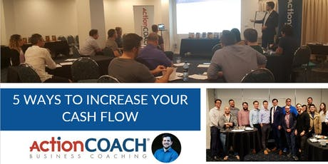 5 Ways to Increase Your Cash Flow tickets