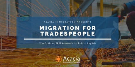 Migration for Trade Occupations Webinar tickets