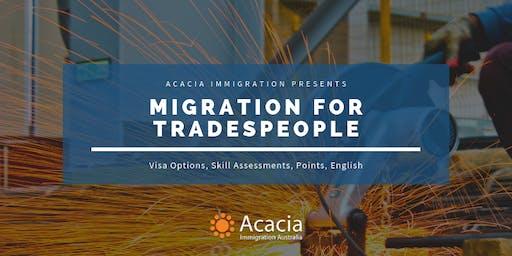 Migration for Trade Occupations Webinar
