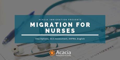 Migration for Nurses Webinar tickets