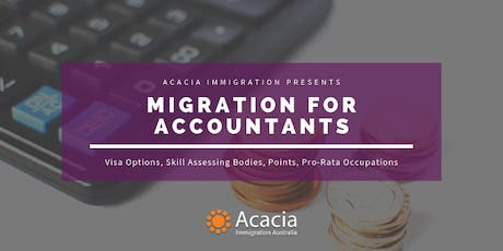 Migration for Accountants Webinar tickets