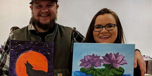 Paint & Sip Saturday September 14th or 21st or 28th