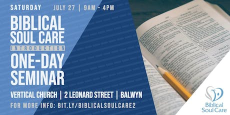 Introduction to Biblical Counselling tickets