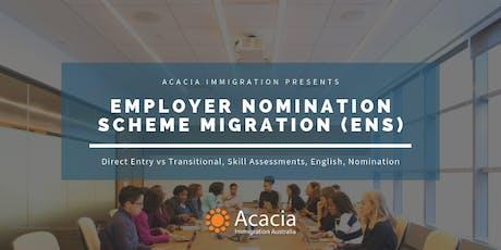 Employer Nomination Scheme (ENS) Webinar tickets