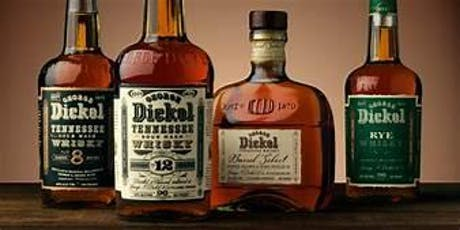 Whiskey Wednesday launch with George Dickel tickets