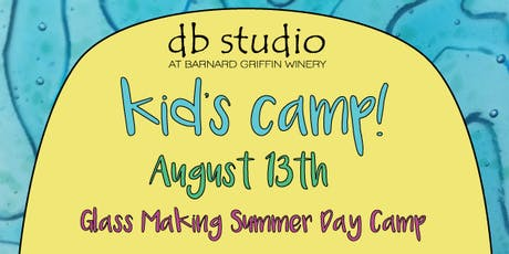Kids Day Camp-Glass Making tickets