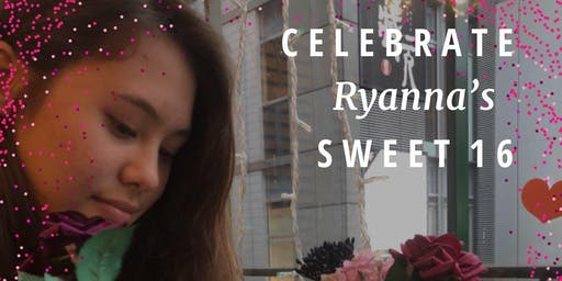 Ryanna's surprise 16th birthday party