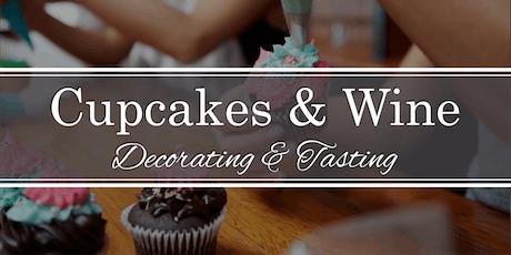 Cupcake Decorating & Wine Tasting tickets