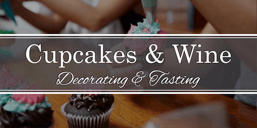 Cupcake Decorating & Wine Tasting