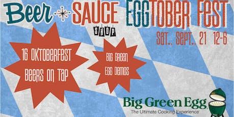 BeerSauce EGGtoberfest tickets