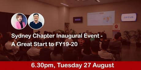 Sydney Chapter Inaugural Event - A Great Start to FY19-20 tickets