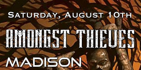 Amongst Thieves, Madison Grove, Gearheart @ The Starry Plough Pub tickets