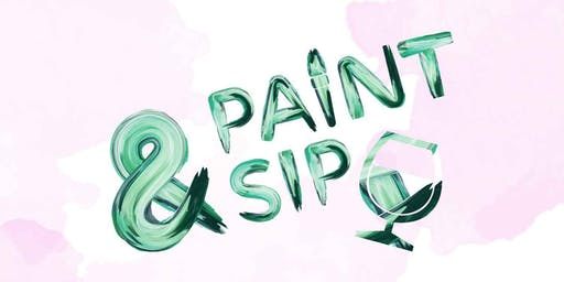 Paint and Sip - Saturday 1pm