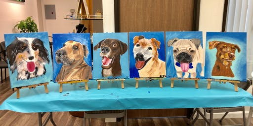 Paint Your Pet Sip and Paint Night