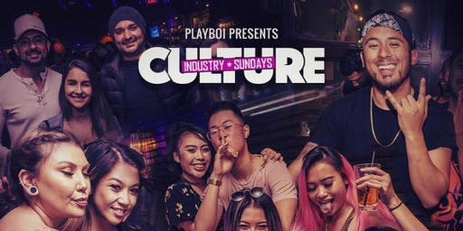 CULTURE INDUSTRY HIPHOP SUNDAYS - DJs PLAYBOI & SHAFFY THIS SUN JULY 21ST @ AVERY LOUNGE!
