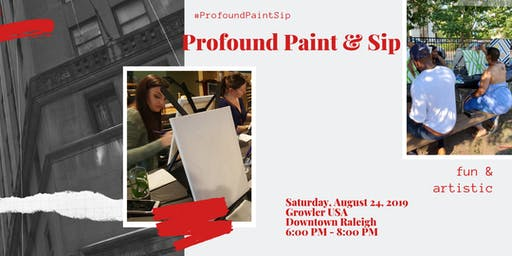 Profound Paint and Sip