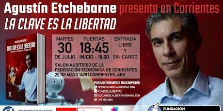 Agustín Etchebarne En Corrientes entradas