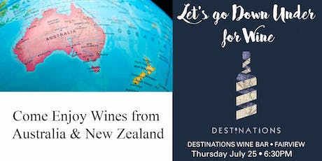 Wines From Down Under (Australia and New Zealand) tickets