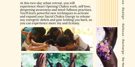 Energy & Ecstasy: An Inner-City Weekend Retreat tickets