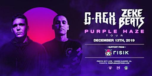 G Rex ZEKE BEATS Purple Haze Tour