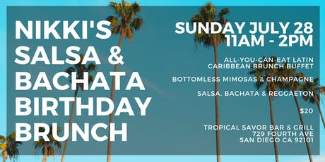 Nikki's Salsa & Bachata Birthday Brunch tickets