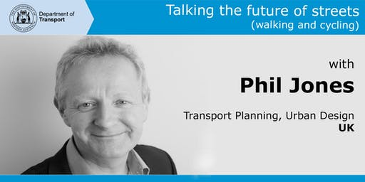 Talking the future of streets (walking and cycling) with Phil Jones