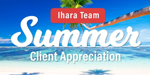 Summer Cool Down with The Ihara Team