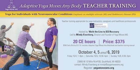 Adaptive Yoga Moves Any Body Teacher Training tickets