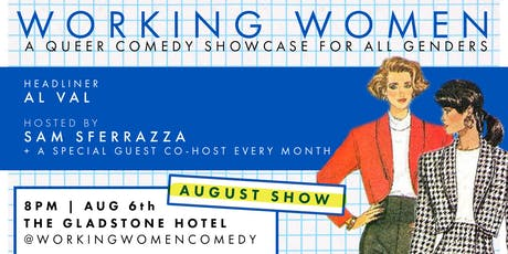 Working Women Comedy - August Show 2019 tickets